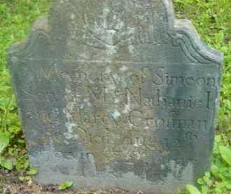 CROFMAN, SIMEON - Berkshire County, Massachusetts   SIMEON CROFMAN - Massachusetts Gravestone Photos