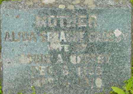 CROSBY, ALIDA - Berkshire County, Massachusetts | ALIDA CROSBY - Massachusetts Gravestone Photos