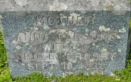 CROSBY, ANNA - Berkshire County, Massachusetts | ANNA CROSBY - Massachusetts Gravestone Photos