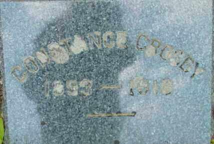 CROSBY, CONSTANCE - Berkshire County, Massachusetts   CONSTANCE CROSBY - Massachusetts Gravestone Photos