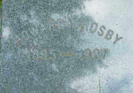 CROSBY, HOWARD - Berkshire County, Massachusetts   HOWARD CROSBY - Massachusetts Gravestone Photos