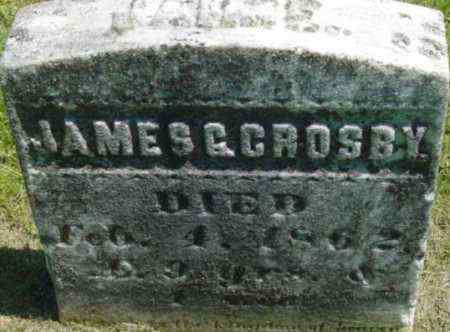 CROSBY, JAMES G - Berkshire County, Massachusetts | JAMES G CROSBY - Massachusetts Gravestone Photos