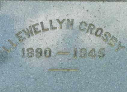 CROSBY, LLEWELLYN - Berkshire County, Massachusetts | LLEWELLYN CROSBY - Massachusetts Gravestone Photos