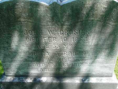 BOOTH, JULIA A - Berkshire County, Massachusetts   JULIA A BOOTH - Massachusetts Gravestone Photos