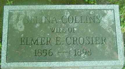 COLLINS, SELINA - Berkshire County, Massachusetts | SELINA COLLINS - Massachusetts Gravestone Photos
