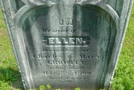 CROWLEY, ELLEN - Berkshire County, Massachusetts | ELLEN CROWLEY - Massachusetts Gravestone Photos