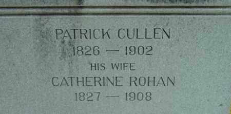 ROHAN CULLEN, CATHERINE - Berkshire County, Massachusetts | CATHERINE ROHAN CULLEN - Massachusetts Gravestone Photos