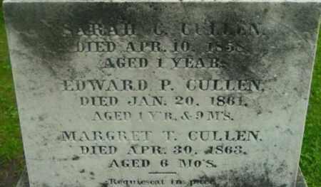 CULLEN, MARGRET T - Berkshire County, Massachusetts | MARGRET T CULLEN - Massachusetts Gravestone Photos