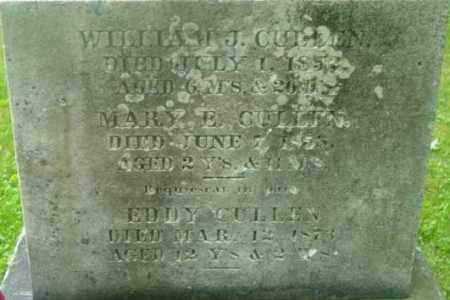 CULLEN, WILLIAM J - Berkshire County, Massachusetts | WILLIAM J CULLEN - Massachusetts Gravestone Photos