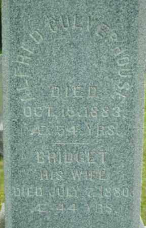 CULVERHOUSE, BRIDGET - Berkshire County, Massachusetts | BRIDGET CULVERHOUSE - Massachusetts Gravestone Photos