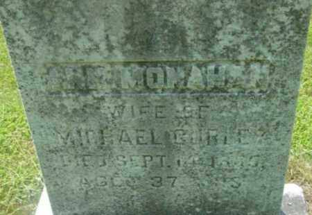 MONAHAN, ANN - Berkshire County, Massachusetts | ANN MONAHAN - Massachusetts Gravestone Photos