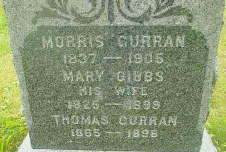 CURRAN, MORRIS - Berkshire County, Massachusetts | MORRIS CURRAN - Massachusetts Gravestone Photos