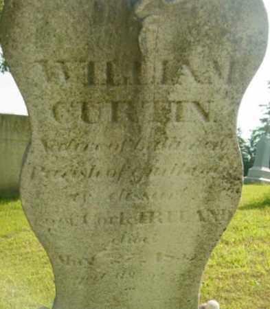 CURTIN, WILLIAM - Berkshire County, Massachusetts   WILLIAM CURTIN - Massachusetts Gravestone Photos