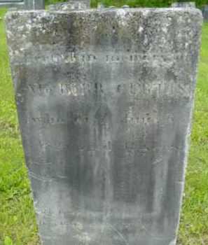 CURTIS, BURR - Berkshire County, Massachusetts   BURR CURTIS - Massachusetts Gravestone Photos