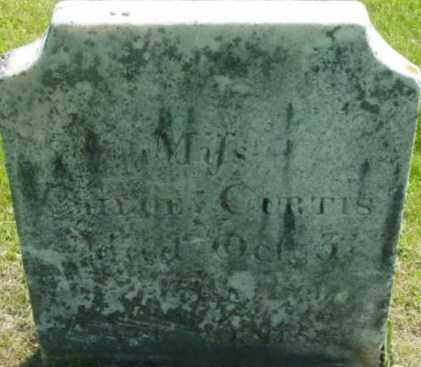 CURTIS, CHLOE - Berkshire County, Massachusetts | CHLOE CURTIS - Massachusetts Gravestone Photos