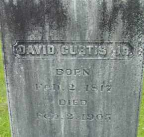 CURTIS, DAVID - Berkshire County, Massachusetts   DAVID CURTIS - Massachusetts Gravestone Photos