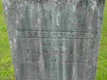 CURTIS, DAVID - Berkshire County, Massachusetts | DAVID CURTIS - Massachusetts Gravestone Photos