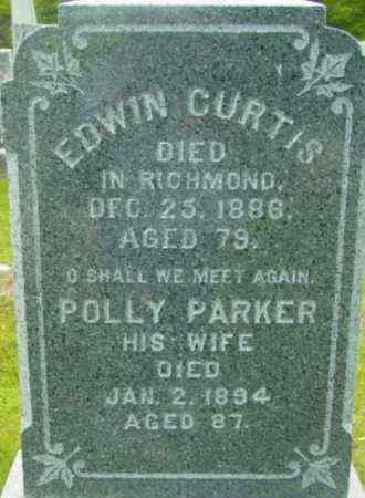 PARKER, POLLY - Berkshire County, Massachusetts | POLLY PARKER - Massachusetts Gravestone Photos