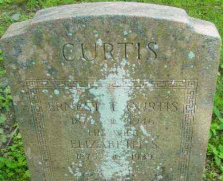 CURTIS, ELIZABETH S - Berkshire County, Massachusetts | ELIZABETH S CURTIS - Massachusetts Gravestone Photos