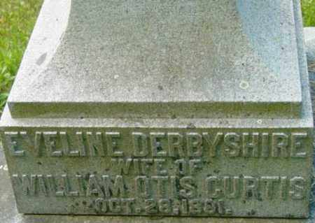 CURTIS, EVELINE - Berkshire County, Massachusetts | EVELINE CURTIS - Massachusetts Gravestone Photos