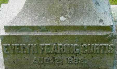 CURTIS, EVELYN FEARING - Berkshire County, Massachusetts | EVELYN FEARING CURTIS - Massachusetts Gravestone Photos