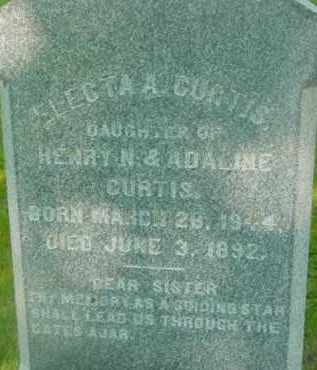 CURTIS, ELECTA A - Berkshire County, Massachusetts | ELECTA A CURTIS - Massachusetts Gravestone Photos