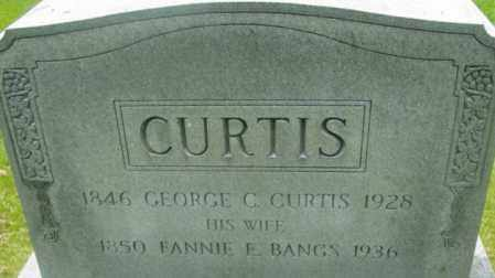 BANGS, FANNIE E - Berkshire County, Massachusetts | FANNIE E BANGS - Massachusetts Gravestone Photos