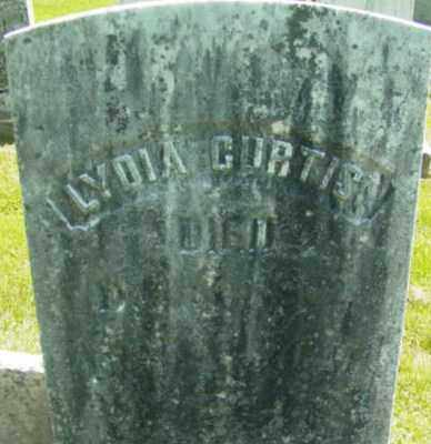CURTIS, LYDIA - Berkshire County, Massachusetts   LYDIA CURTIS - Massachusetts Gravestone Photos