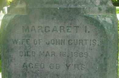 CURTIS, MARGARET I - Berkshire County, Massachusetts | MARGARET I CURTIS - Massachusetts Gravestone Photos