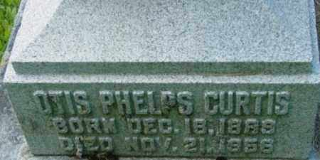 CURTIS, OTIS PHELPS - Berkshire County, Massachusetts | OTIS PHELPS CURTIS - Massachusetts Gravestone Photos