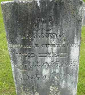 CURTIS, PETER B - Berkshire County, Massachusetts | PETER B CURTIS - Massachusetts Gravestone Photos