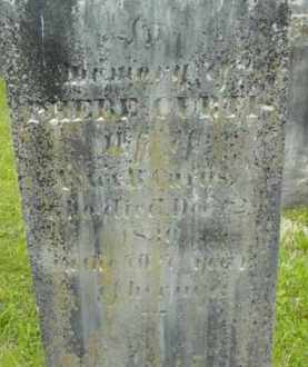 CURTIS, PHEBE - Berkshire County, Massachusetts | PHEBE CURTIS - Massachusetts Gravestone Photos