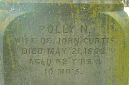 CURTIS, POLLY N - Berkshire County, Massachusetts | POLLY N CURTIS - Massachusetts Gravestone Photos