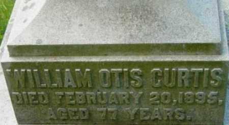 CURTIS, WILLIAM OTIS - Berkshire County, Massachusetts | WILLIAM OTIS CURTIS - Massachusetts Gravestone Photos