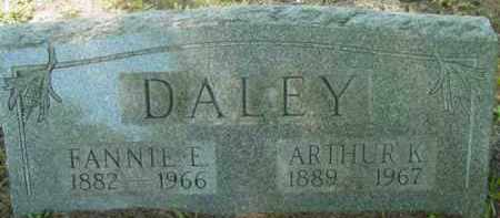 DALEY, FANNIE E - Berkshire County, Massachusetts | FANNIE E DALEY - Massachusetts Gravestone Photos