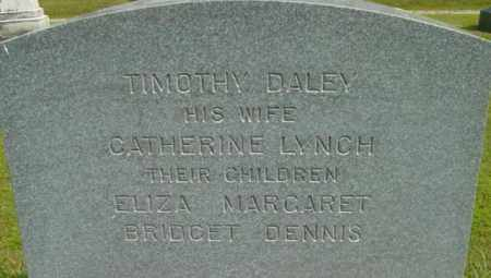 LYNCH DALEY, CATHERINE - Berkshire County, Massachusetts | CATHERINE LYNCH DALEY - Massachusetts Gravestone Photos