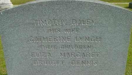 DALEY, MARGARET - Berkshire County, Massachusetts | MARGARET DALEY - Massachusetts Gravestone Photos