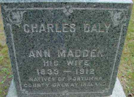 DALY, ANN - Berkshire County, Massachusetts | ANN DALY - Massachusetts Gravestone Photos