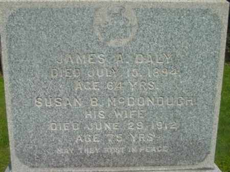 DALY, JAMES A - Berkshire County, Massachusetts | JAMES A DALY - Massachusetts Gravestone Photos
