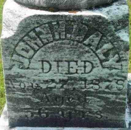 DALY, JOHN H - Berkshire County, Massachusetts | JOHN H DALY - Massachusetts Gravestone Photos