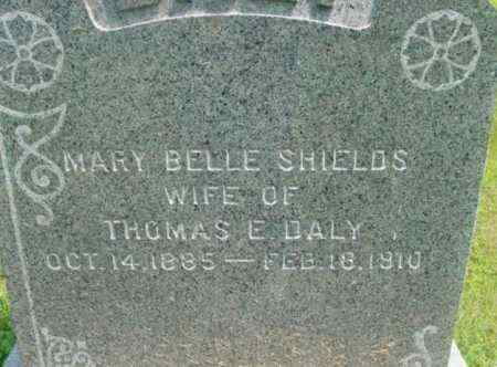 SHIELDS DALY, MARY BELLE - Berkshire County, Massachusetts | MARY BELLE SHIELDS DALY - Massachusetts Gravestone Photos