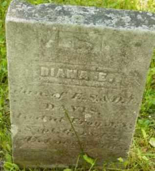 DAVIS, DIANA E - Berkshire County, Massachusetts | DIANA E DAVIS - Massachusetts Gravestone Photos