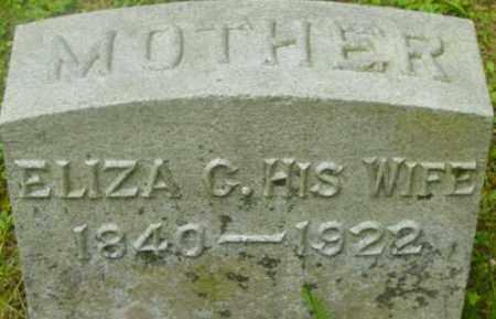 DAVIS, ELIZA C - Berkshire County, Massachusetts | ELIZA C DAVIS - Massachusetts Gravestone Photos