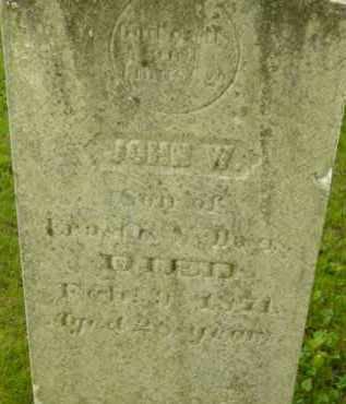 DAVIS, JOHN W - Berkshire County, Massachusetts   JOHN W DAVIS - Massachusetts Gravestone Photos