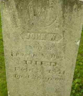 DAVIS, JOHN W - Berkshire County, Massachusetts | JOHN W DAVIS - Massachusetts Gravestone Photos