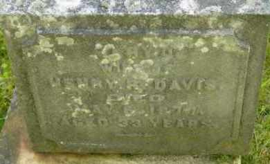 DAVIS, MARY J - Berkshire County, Massachusetts | MARY J DAVIS - Massachusetts Gravestone Photos