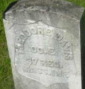 DAVIS, THEODORE - Berkshire County, Massachusetts | THEODORE DAVIS - Massachusetts Gravestone Photos