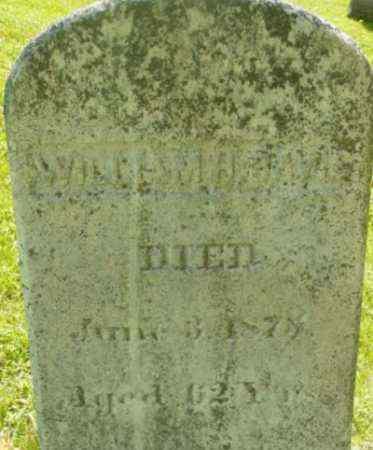 DAVIS, WILLIAM H - Berkshire County, Massachusetts | WILLIAM H DAVIS - Massachusetts Gravestone Photos