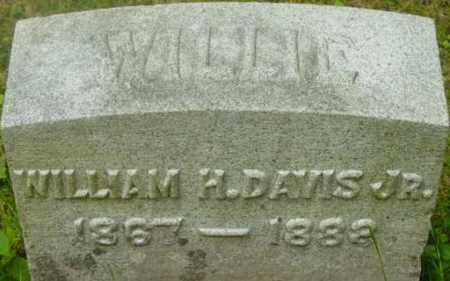 DAVIS, WILLIAM H - Berkshire County, Massachusetts   WILLIAM H DAVIS - Massachusetts Gravestone Photos
