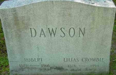 DAWSON, ROBERT - Berkshire County, Massachusetts | ROBERT DAWSON - Massachusetts Gravestone Photos
